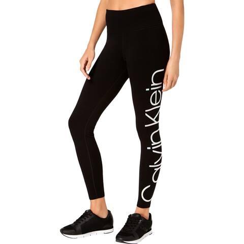 Calvin Klein Performance Womens Athletic Leggings Fitness Yoga - XS