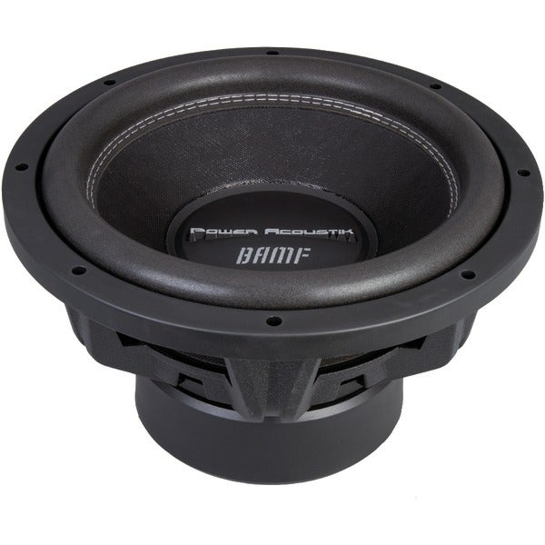 "Power Acoustik Bamf-152 Bamf Series Dual 2Ohm Subwoofer (15""; 3,800 Watt)"