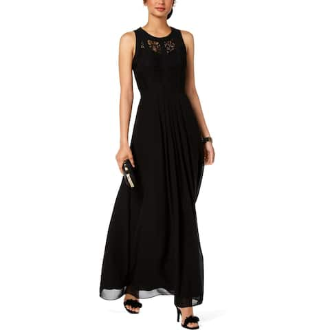 B&A by Betsy and Adam Womens Petites Evening Dress Formal Sleeveless