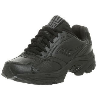 Saucony Womens Grid Omni Walker Leather Casual Walking Shoes