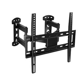 Mount-It! Corner TV Wall Mount for 32-55 Inch TVs - Black