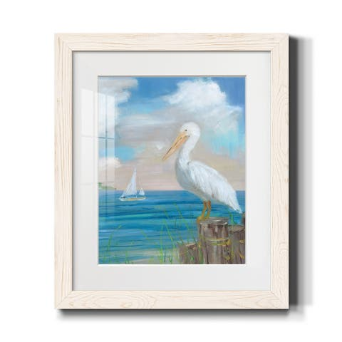 Pelican View II-Premium Framed Print - Ready to Hang