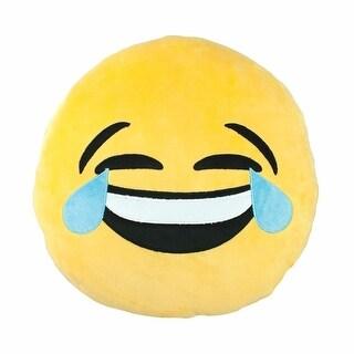 Emojicon Tears Of Joy Plush Pillow
