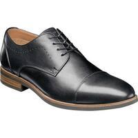 Florsheim Men's Uptown Cap Toe Oxford Black Leather