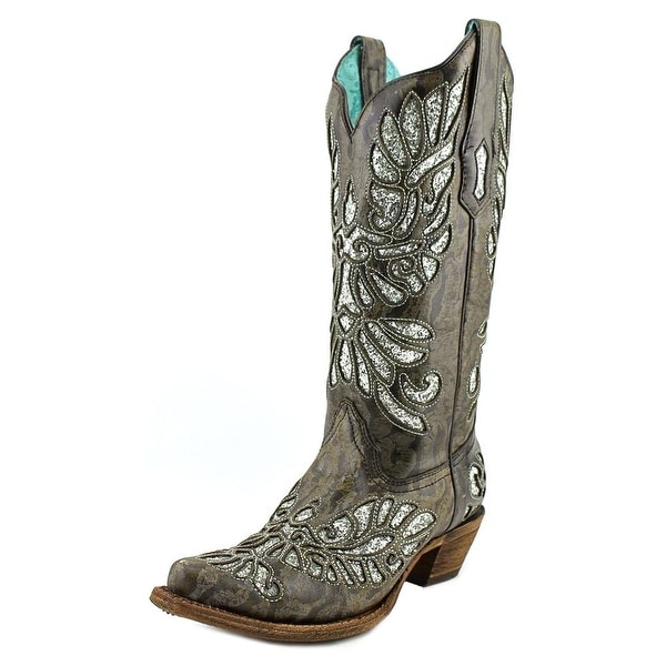 Corral A3307   Pointed Toe Leather  Western Boot