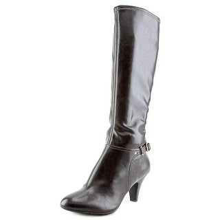 Naturalizer Britta Women Round Toe Leather Knee High Boot