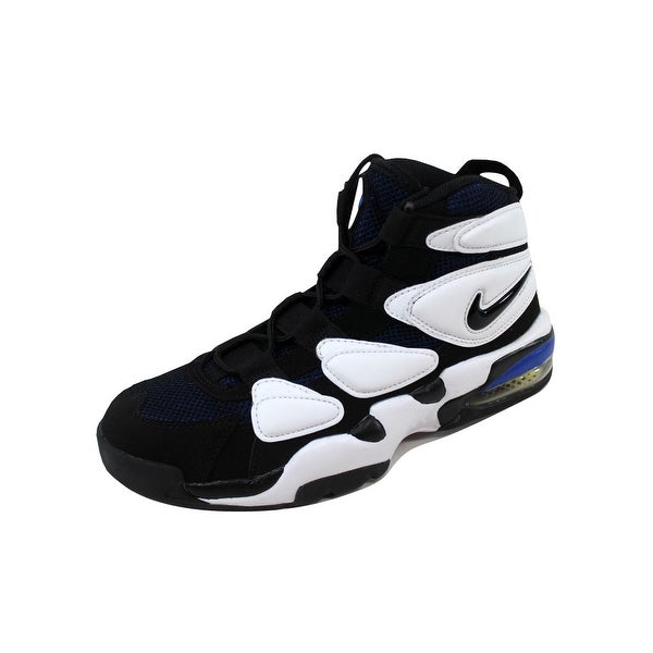 Shop Nike Men's Air Max2 Uptempo '94 WhiteBlack Royal Blue
