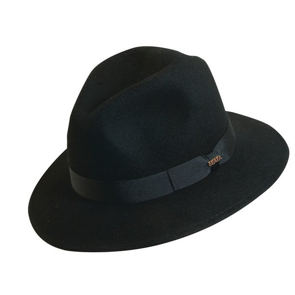 d1d9f165a95 Shop Scala Classico Men s 100% Wool Crushable Safari Hat - Free Shipping On  Orders Over  45 - Overstock.com - 14278151