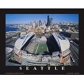 ''Seattle Seahawks, Quest Field, Washington'' by Mike Smith Photography Art Print (22 x 28 in.)