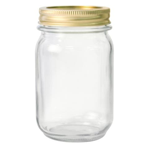 Anchor Hocking 10985 Home Canning Jars, 1 Pt, 12-Pack