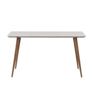 51.18 in. Moore Sleek Modern Sideboard, Off White