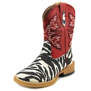 Roper Square Toe Square Toe Synthetic Western Boot