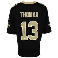 Michael Thomas Signed New Orleans Saints Black Nike Game Replica Jersey JSA  ITP 666467e5f