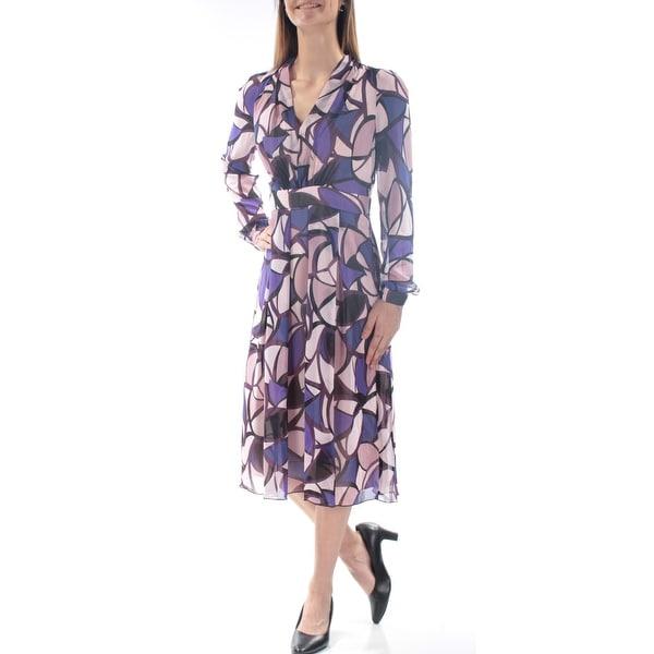 Shop Anne Klein 139 Womens New 1329 Blue Polka Dot Cuffed