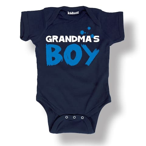 Infant Baby Snap Suit Grandma's Boy, KidTeez Mother's Day