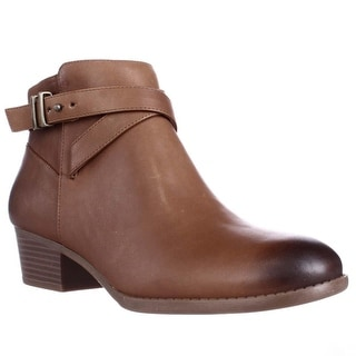 I35 Herbii Short Ankle Boots, Caramel