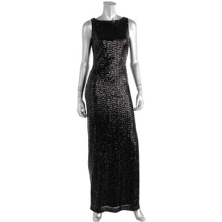 Lauren Ralph Lauren Womens Evening Dress Sequined