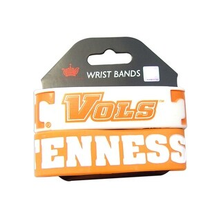 Tennessee Volunteers Rubber Wrist Band Set