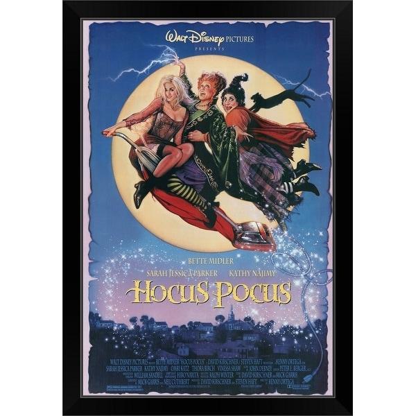 """""""Hocus Pocus (1993)"""" Black Framed Print. Opens flyout."""