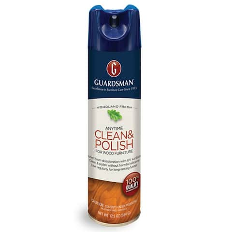 Guardsman 460100 Wax Free Wood Polish, 12.5 Oz