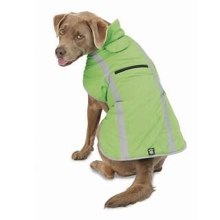Madison Dog Parka - Apple Green - Large