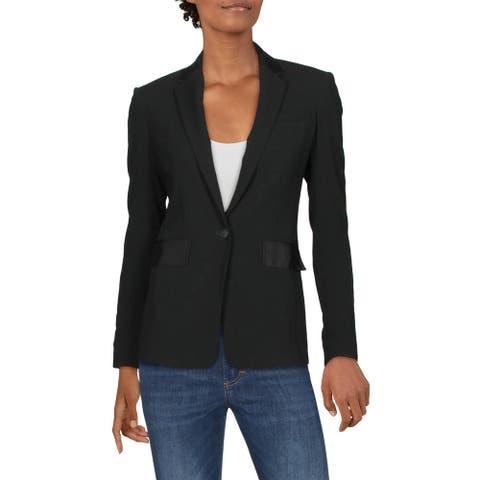 Rag & Bone Womens Windsor One-Button Blazer Business Office - Black