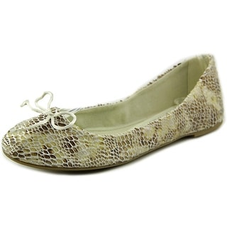 French Follies Elita Women Round Toe Canvas Flats