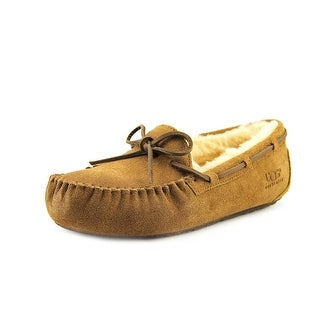 Ugg Australia Dakota Women  Moc Toe Suede Tan Slipper