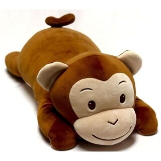 Snoozimals 20in Monkey Plush, Stuffed Animals by Go! Games