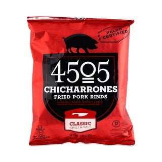 4505 Pork Rinds - Chicharones - Case of 24 - 1 oz