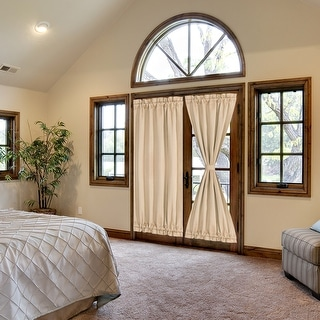 Link to Elegant Room Blackout Curtains Sliding Window Door Side Panel Similar Items in Curtains & Drapes