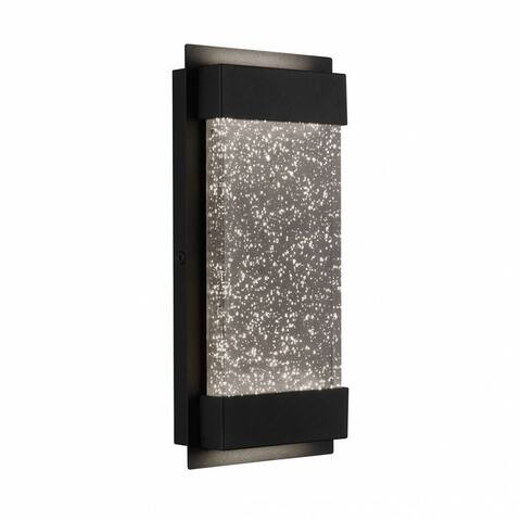 "Artika GB390L Essence Bubble Glow Box, 300 lm., 6"" Weather Resistant Outdoor Light, Black"