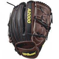 Wilson 2018 A2000 B212 SS Infield Glove, 12 Dark Brown/Black, Right Hand Throw