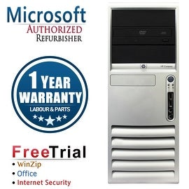 Refurbished HP Compaq DC7700 Tower Core 2 Duo E6300 1.86G 2G DDR2 80G DVD WIN 10 Home 64 1 Year Warranty