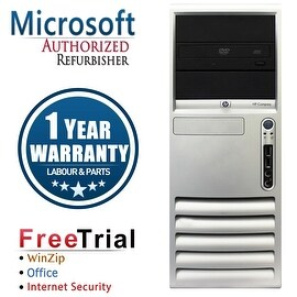 Refurbished HP Compaq DC7700 Tower Core 2 Duo E6300 1.86G 4G DDR2 160G DVD WIN 10 Home 64 1 Year Warranty