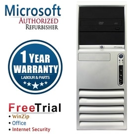 Refurbished HP Compaq DC7700 Tower Core 2 Duo E6300 1.86G 4G DDR2 500G DVD WIN 10 Home 64 1 Year Warranty