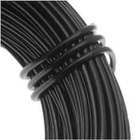Aluminum Craft Wire Black 18 Gauge 39 Feet (11.8 Meters)