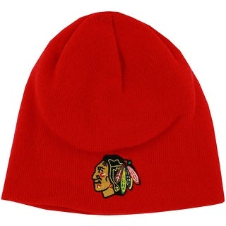 Chicago Blackhawks Red Beanie