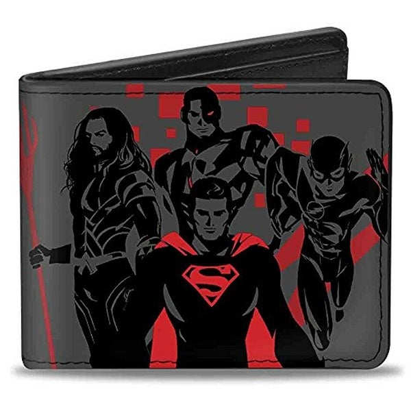 Buckle-Down Bifold Wallet Justice League