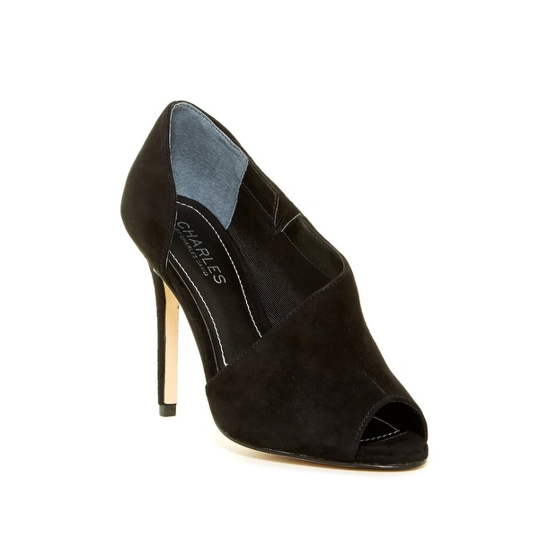 Charles by Charles David Womens REWARD Peep Toe Classic Pumps