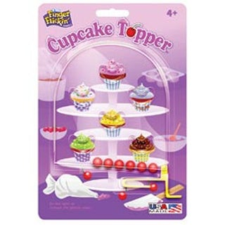 Cupcake Topper - Finger Flickin' Game