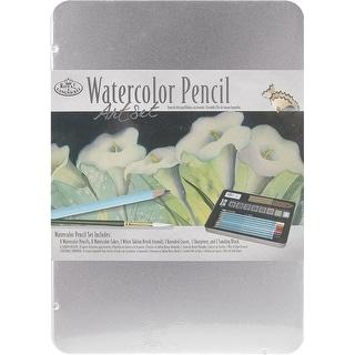 Watercolor Pencil Art Set W/Tin-