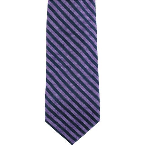 Nautica Mens Striped Self-Tied Necktie - One Size