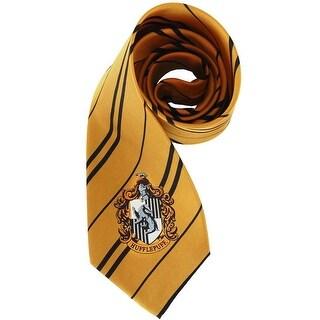 Elope Hogwarts Hufflepuff Necktie - Solid