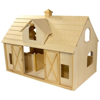 Breyer Traditional Deluxe Wood Horse Barn w/ Cupola Toy Model