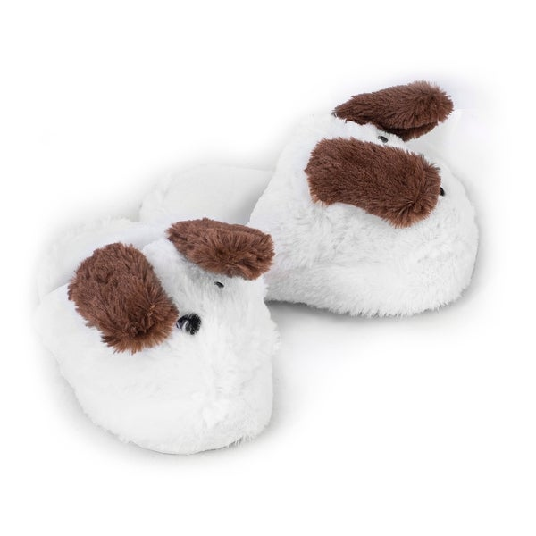 Puppy Crazy Slippers, Size M