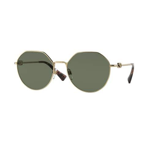 Valentino VA2043 300271 57 Gold Woman Irregular Sunglasses
