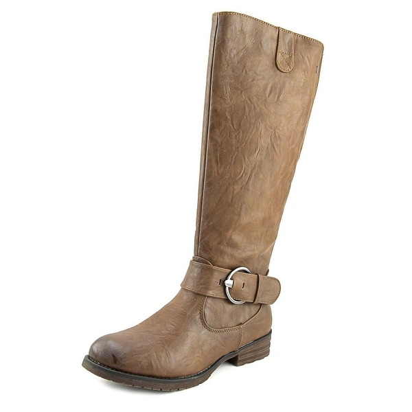 Patrizia By Spring Step Anderson Boot Women Synthetic Brown Knee High Boot