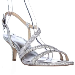 MICHAEL Michael Kors Irene Mid Evening Sandals - White/Silver