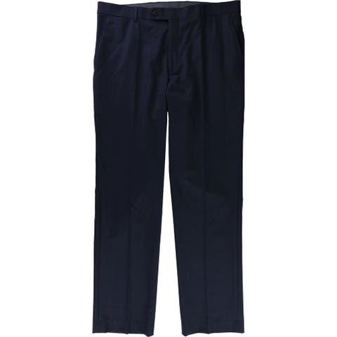 Tommy Hilfiger Mens TH Flex Dress Pants Slacks, Blue, 36W x 32L - 36W x 32L